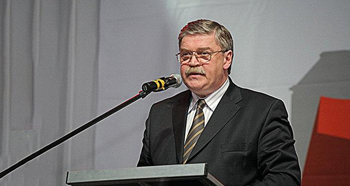 Посол России в Латвии Евгений Лукьянов