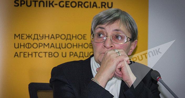 Политолог Нана Девдариани