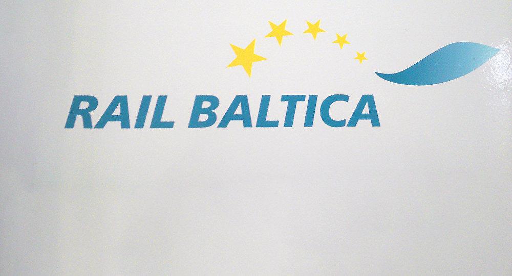 Логотип Rail Baltica