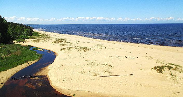 Морское побережье Саулкрасты