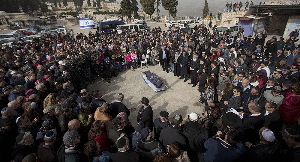 Похороны Дафны Меир в Израиле