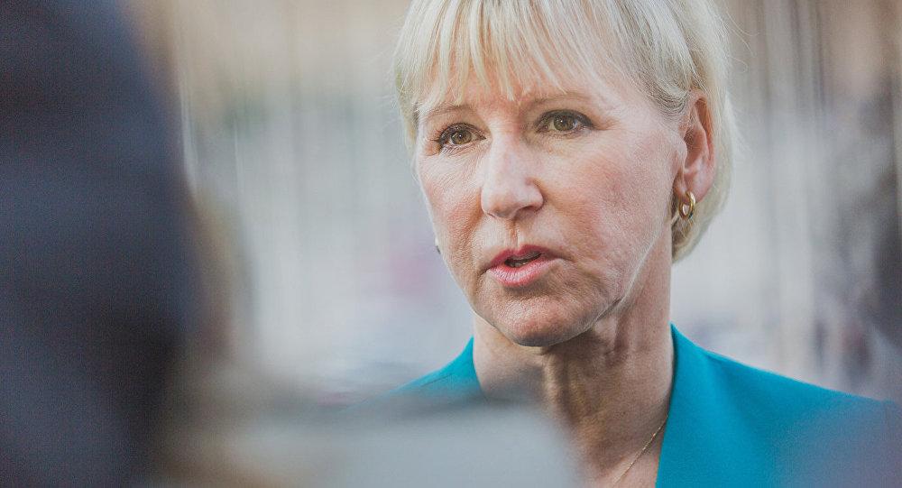 Главы МИД Швеции Маргот Вальстрем. Архивное фото