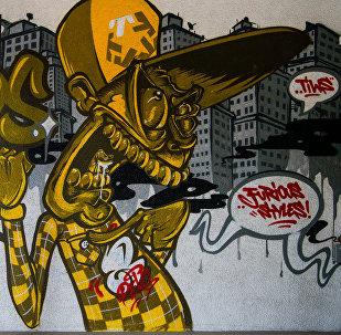 Grafiti Tallinas ielās