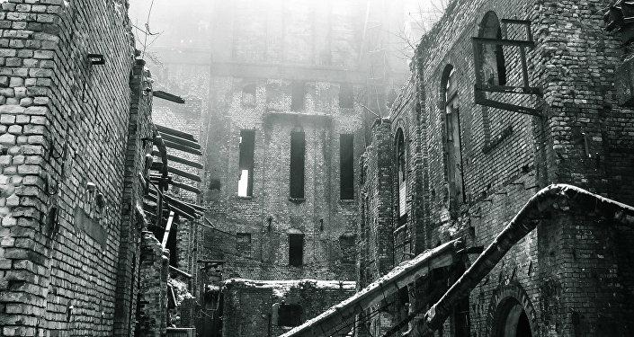 Бывшая бумажная фабрика Слокас в Юрмале