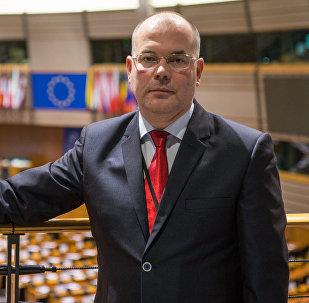 Евродепутат Андрей Мамыкин