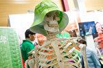 Всем здоровья, живите долго! призывает представитель литовского санатория на выставке Балттур