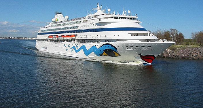 Круизный лайнер AIDA cara