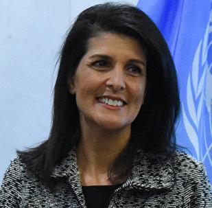 ASV pastāvīgā pārstāve ANO Nikija Heilija