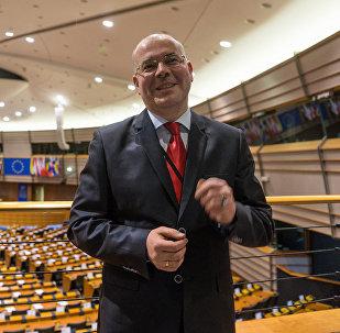 Депутат Европарламента от Латвии Андрей Мамыкин