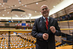 Eiropas Parlamenta deputāts Andrejs Mamikins. Foto no arhīva