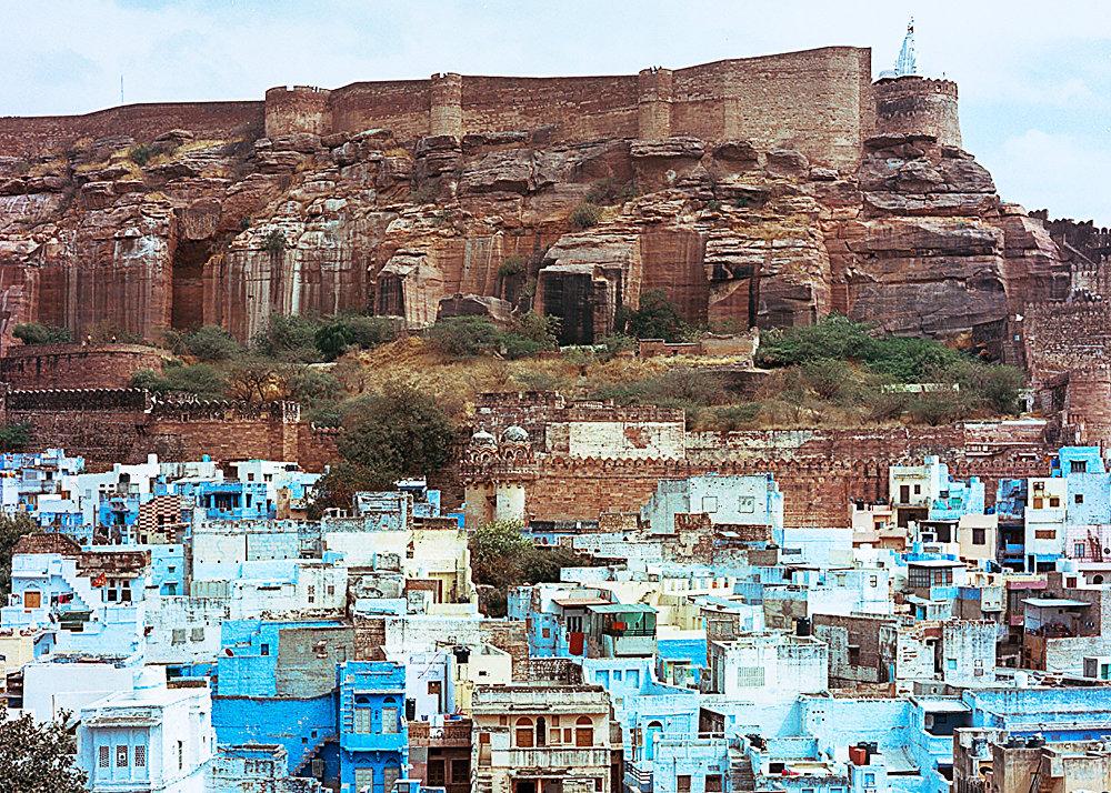 Город Джохпур в Индии