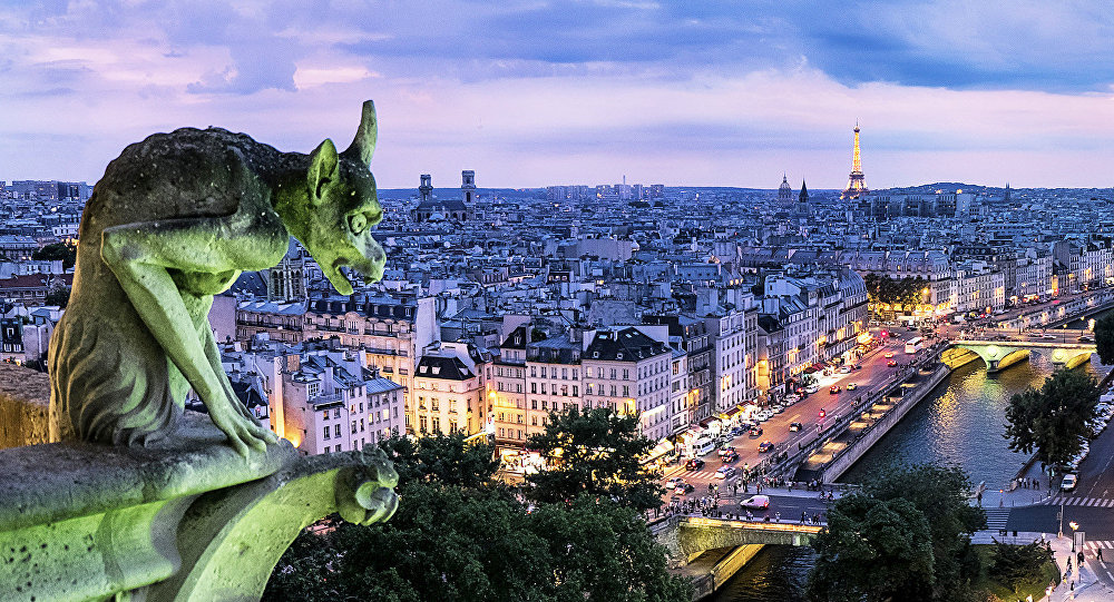 Столица Франции - Париж