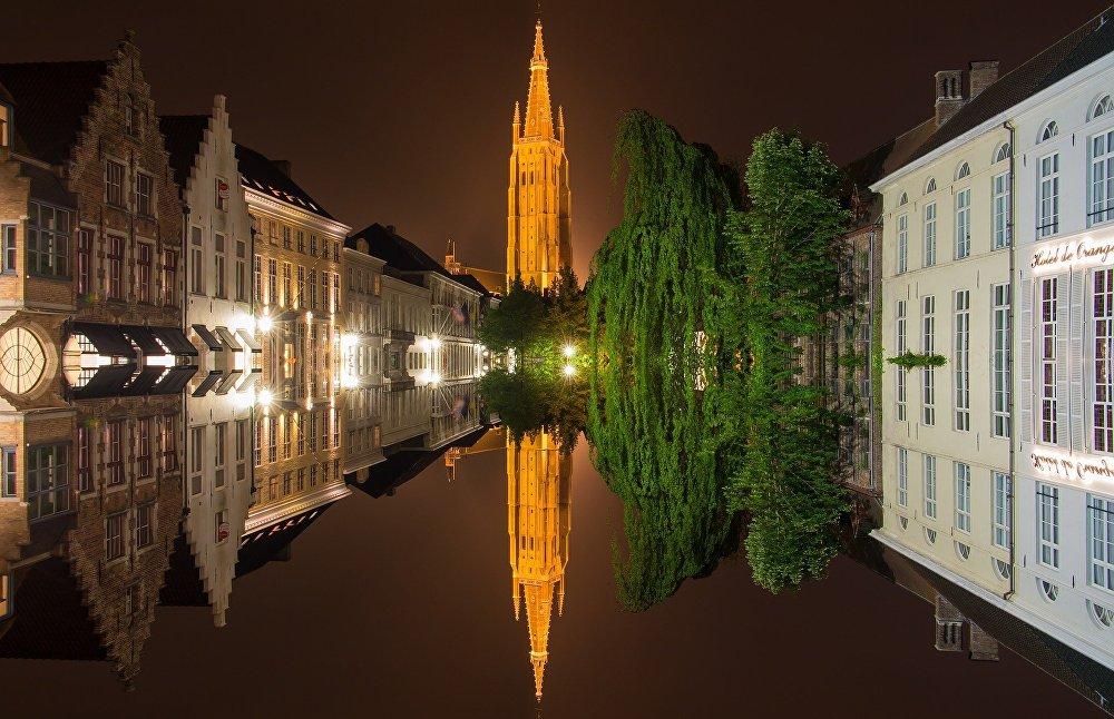 Центр Западной Фландрии, бельгийский город Брюгге