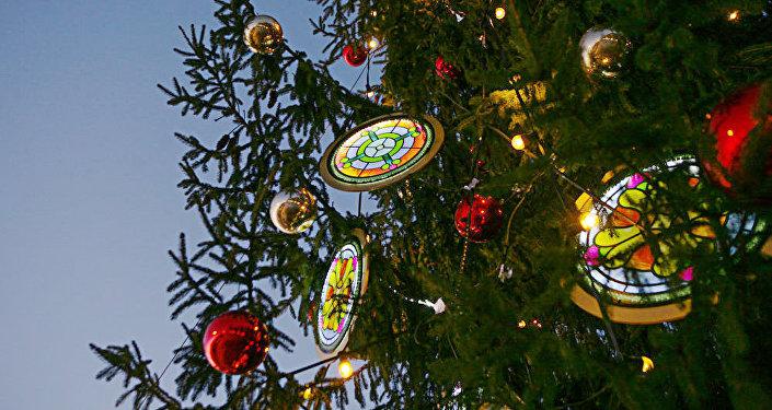 Рождественская елка, архивное фото