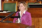 Депутат европарламента Ивета Григуле
