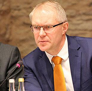 Igaunijas parlamenta Valsts aizsardzības komisijas priekšsēdētājs Hanness Hanso