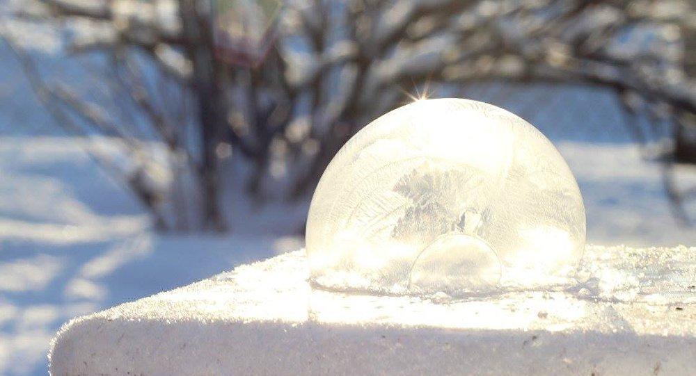 Ledus gabals. Foto no arhīva
