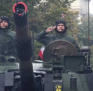 Poļu tankisti. Foto no arhīva