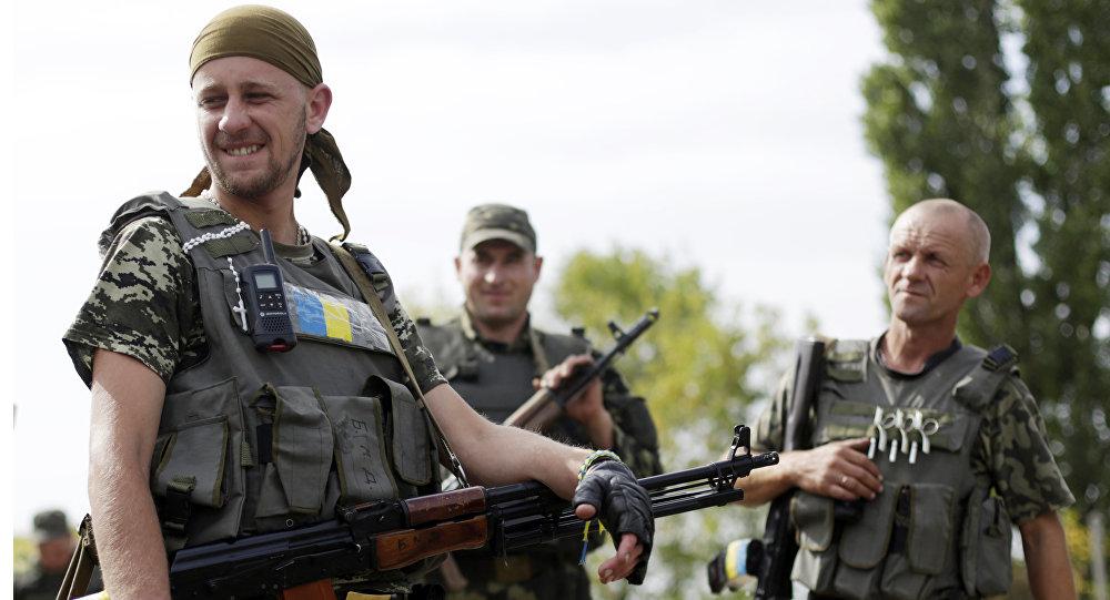 Ukrainas Bruņotie spēki. Foto no arhīva