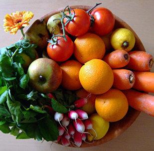 Dārzeņi un augļi. Foto no arhīva