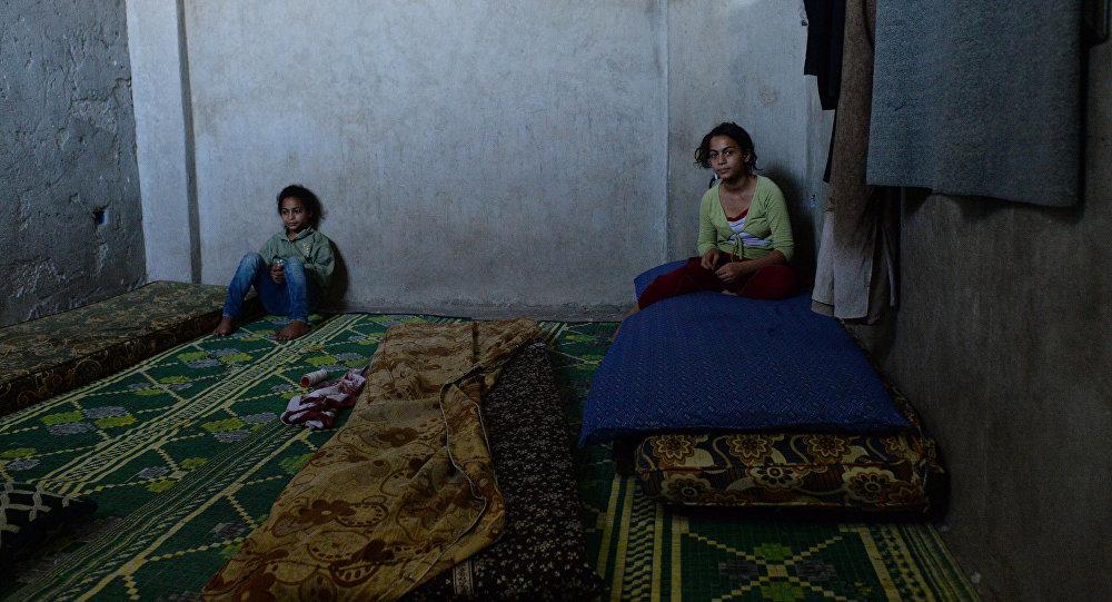 Беженцы из районов Сирии. Архивное фото
