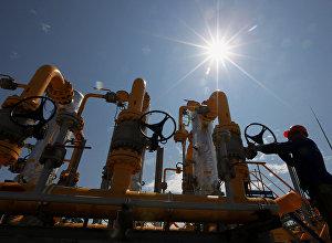 Продолжается строительство газопровода от ГРС