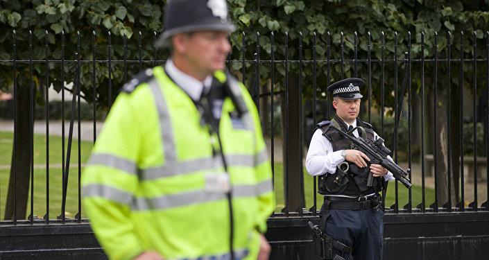 Полиция Великобритании, архивное фото