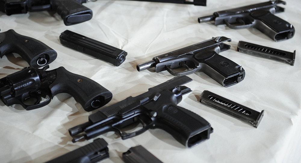 Pistoles. Foto no arhīva