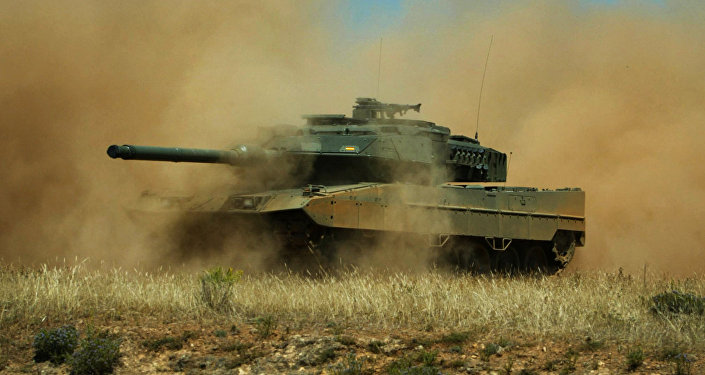 Танк испанской армии Leopardo 2E