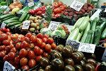 Овощной павильон рынка в Риге