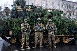Экипаж десантной машины M2 Bradley, архивное фото