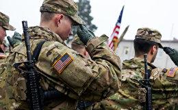 ASV bruņoto spēku karavīri. Foto no arhīva