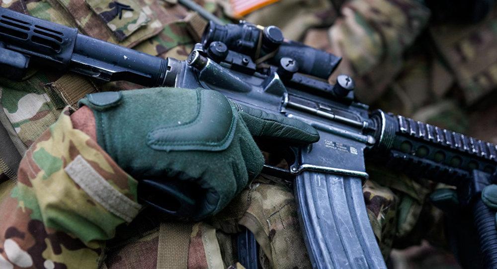 Просто бытовой конфликт: милиция пояснила стрельбу навоенной базе вСША