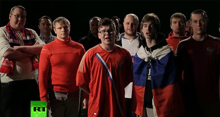 Приезжайте, не тронем: российские футбольные болельщики спели песню британским фанатам