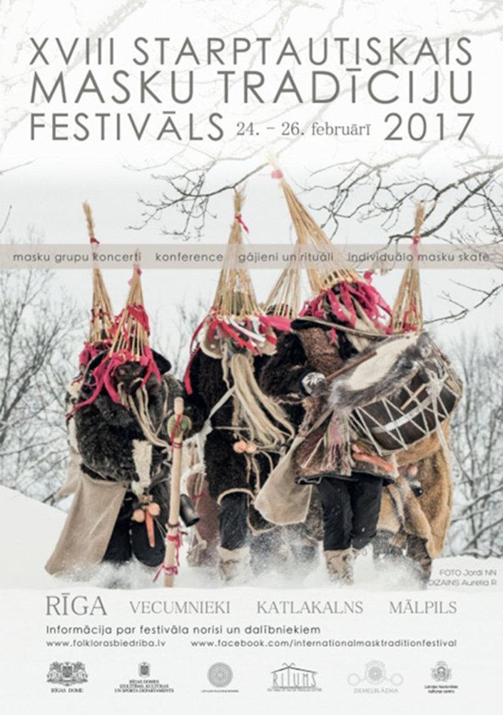 XVIII Международный фестиваль-маскарад в Латвии. Афиша