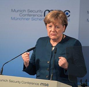Vācijas kanclere Angela Merkele