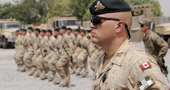 Канадские военнослужащие НАТО
