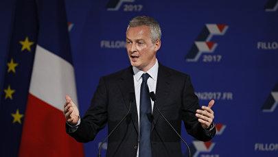 Francijas parlamenta apakšpalātas deputāts Bruno Le Mers