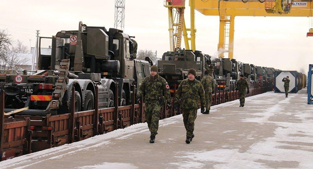 Бойцы НАТО устроили драку сполицейскими Литвы