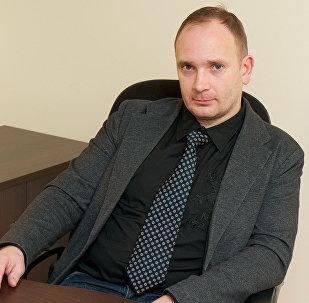 Igaunijas uzņēmuma T-Tammer OÜ loģistikas speciālists Alans Hantsoms