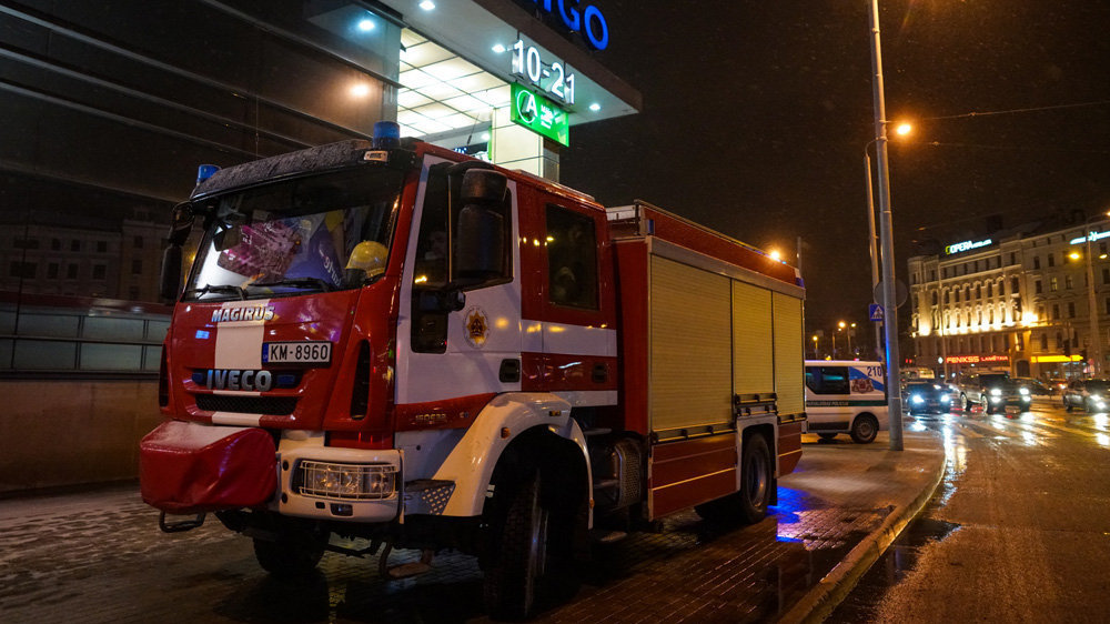 ВРиге эвакуируют железнодорожный вокзал