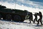 Показательные выступления военнослужащих ЧФ, посвященные Дню защитников Отечества