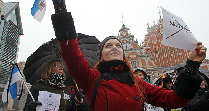 Рижские гиды протестуют