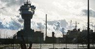 Вышка управления движением судов Рижского порта и штаб Службы береговой охраны Латвии