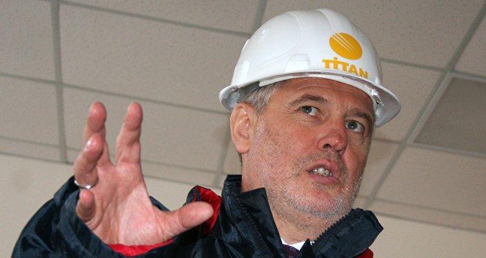 Holdinga Group DF direktoru padomes priekšsēdētājs Dmitrijs Firtašs