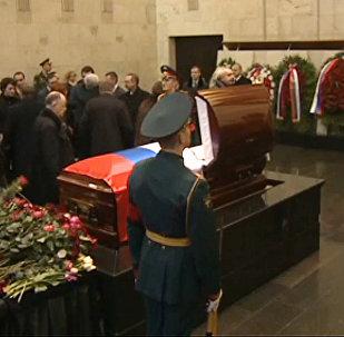 LIVE: Atvadu ceremonija no Krievijas pastāvīgā pārstāvja ANO Vitālija Čurkina