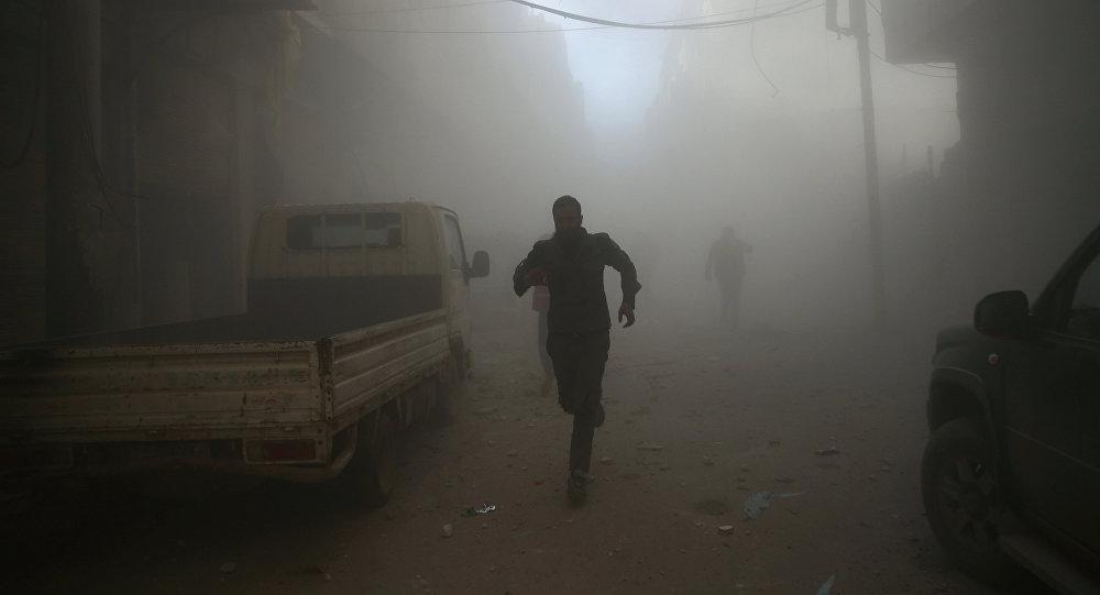 Situācija Damaskā, Sīrijā. Foto no arhīva