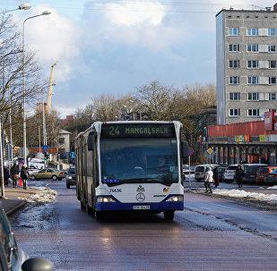 Улица Аугуста Домбровскиса в Вецмилгрависе