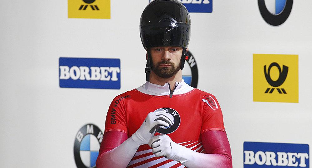 Русский скелетонист Никита Трегубов стал вторым наэтапе Кубка мира вУистлере