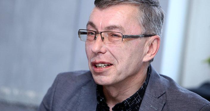 Latvijas Radio (LR) valdes priekšsēdētājs Aldis Pauliņš